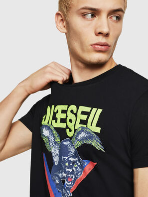 T-DIEGO-A4, Black - T-Shirts