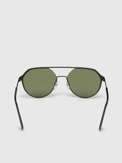 Diesel - DL0324, Black/Green - Sunglasses - Image 4