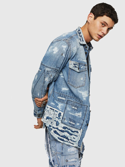 Diesel - D-HISAKY-SY, Blue Jeans - Denim Shirts - Image 6