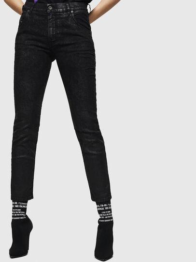 Diesel - Krailey JoggJeans 084AG, Black/Dark grey - Jeans - Image 1