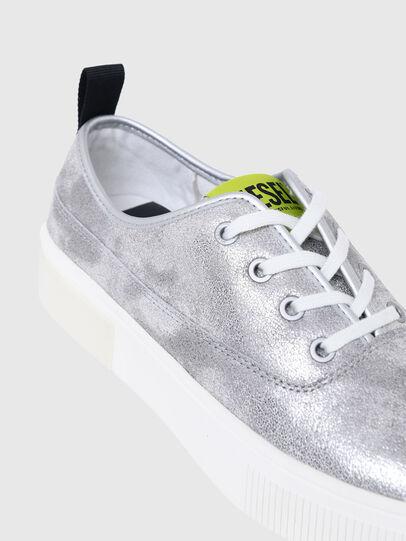 Diesel - S-VANEELA LC, Silver - Sneakers - Image 4