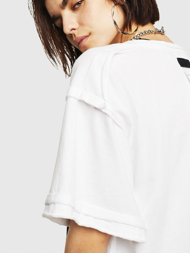 Diesel - T-JACKY-G, White - T-Shirts - Image 3