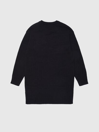 Diesel - DLOGOXA, Black/White - Dresses - Image 2