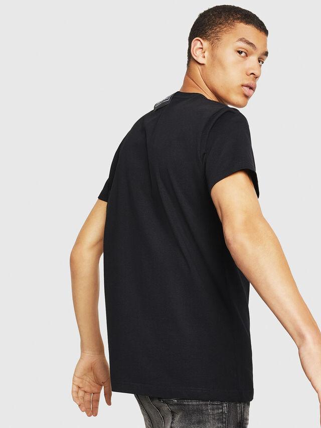 Diesel - PS-T-DIEGO-DAYSGONE, Black - T-Shirts - Image 2