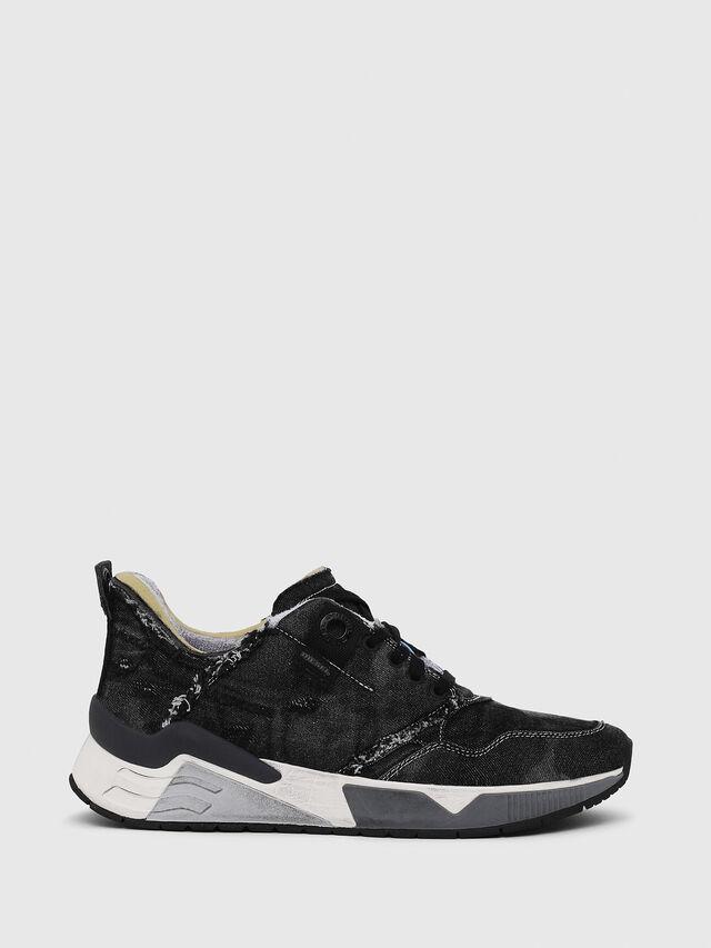 Diesel - S-BRENTHA LC, Black Jeans - Sneakers - Image 1