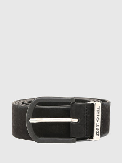 Diesel - B-WASH, Black - Belts - Image 1