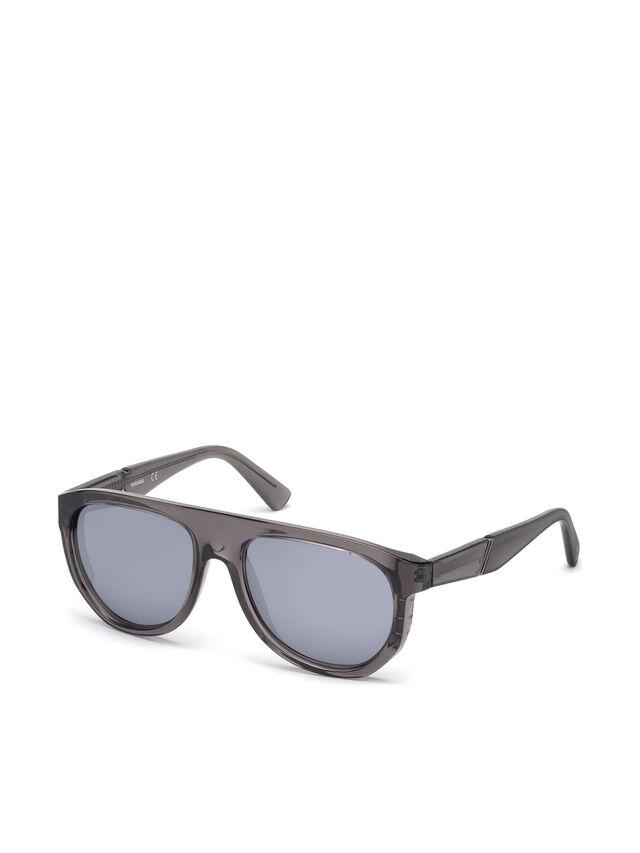 Diesel - DL0255, Grey - Eyewear - Image 4