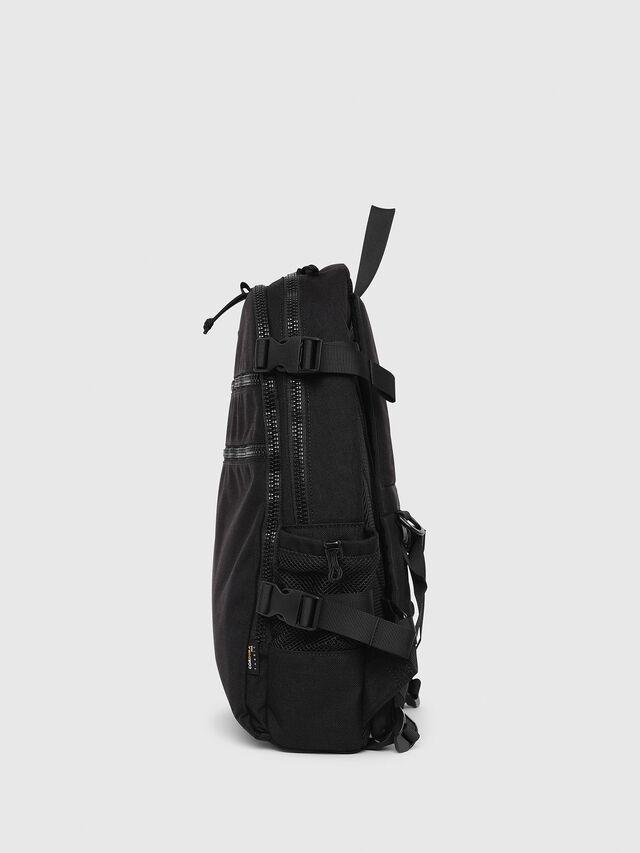 Diesel - F- URBHANITY BACK, Black - Backpacks - Image 3