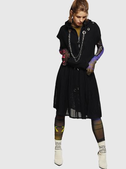 Diesel - O-ARIE, Black - Skirts - Image 6