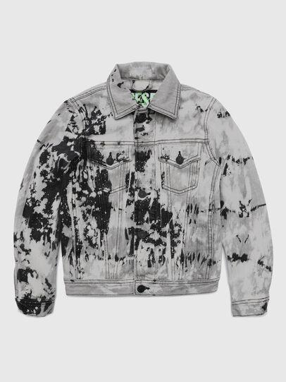Diesel - JNHILL-SP, White/Black - Jackets - Image 1