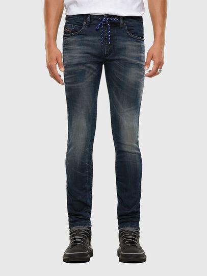Diesel - Thommer JoggJeans 069NT, Dark Blue - Jeans - Image 1
