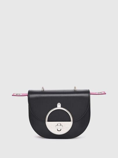 Diesel - MAGGIE BR, Black - Crossbody Bags - Image 1