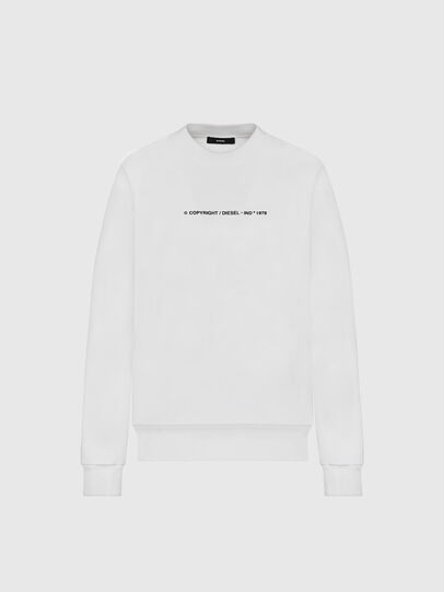 Diesel - S-BIAY-COPY, White - Sweaters - Image 1
