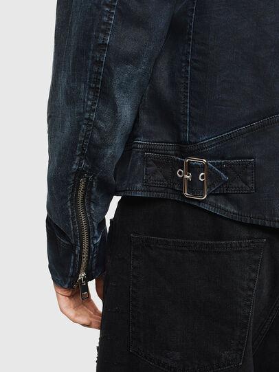 Diesel - D-JEI JOGGJEANS, Dark Blue - Denim Jackets - Image 6