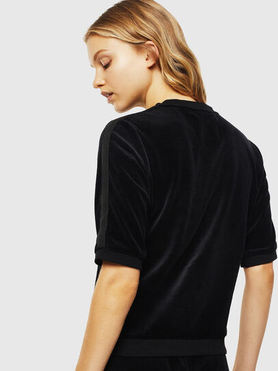 Diesel - UFLT-JEANNE, Black - Sweaters - Image 2