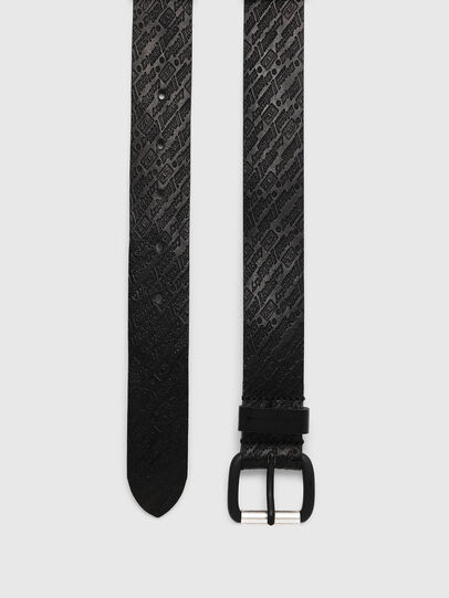 Diesel - B-STRIP, Black - Belts - Image 3
