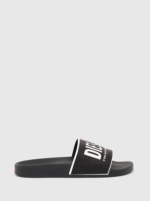 SA-VALLA W, Black/White - Slippers