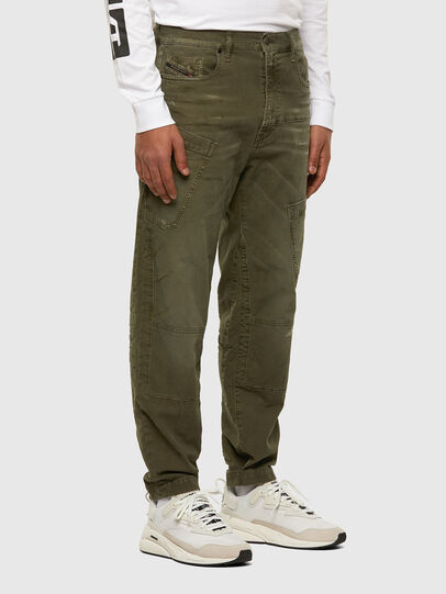 Diesel - D-Azzer JoggJeans® 069NF, Military Green - Jeans - Image 5