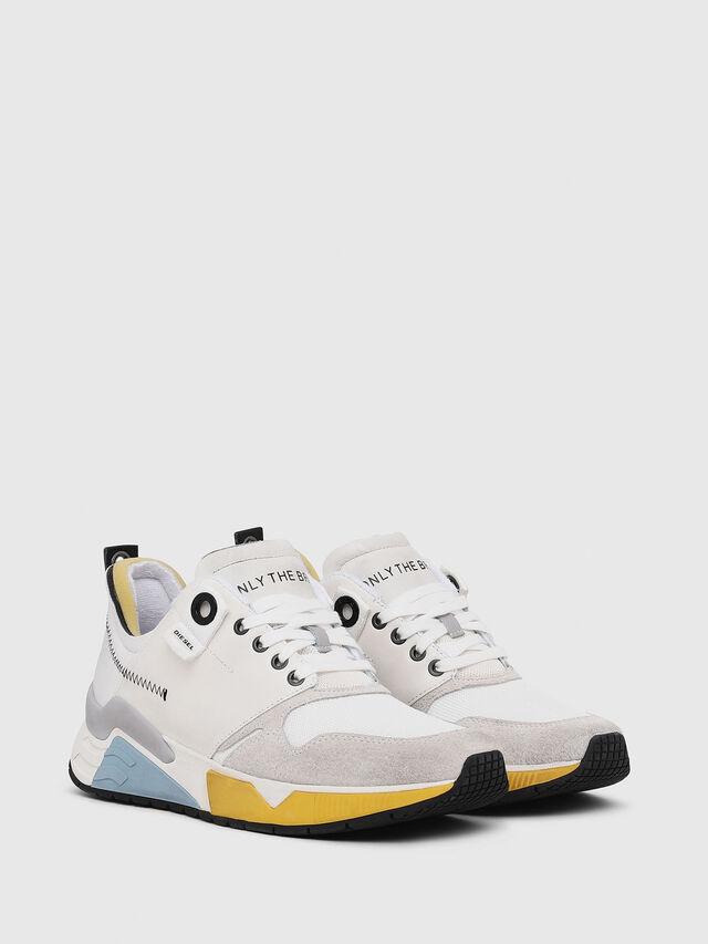 Diesel - S-BRENTHA LC, White - Sneakers - Image 2
