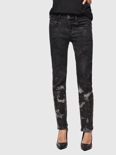 Diesel - D-Ollies JoggJeans 084AZ, Black/Dark grey - Jeans - Image 1
