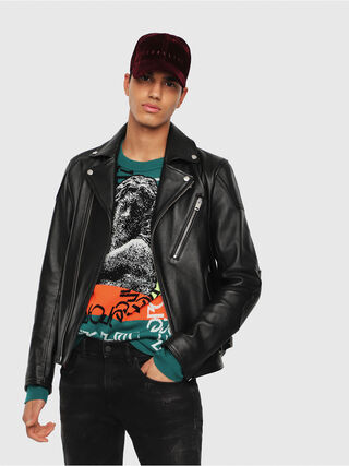 L-KRAMPIS,  - Leather jackets