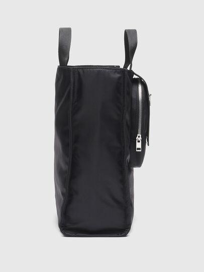 Diesel - ELLY, Black - Shopping and Shoulder Bags - Image 3