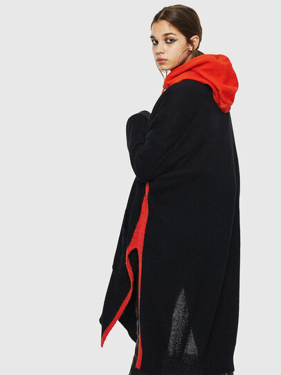 Diesel - M-SURI, Black/Red - Knitwear - Image 5