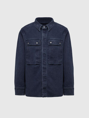 D-VERSO, Dark Blue - Denim Shirts