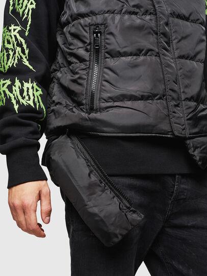 Diesel - W-SUN-REV-SLESS, Black - Winter Jackets - Image 6