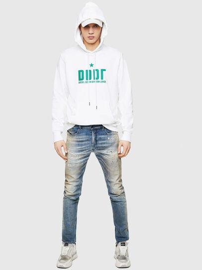 Diesel - S-GIR-HOOD-A1, White - Sweaters - Image 5