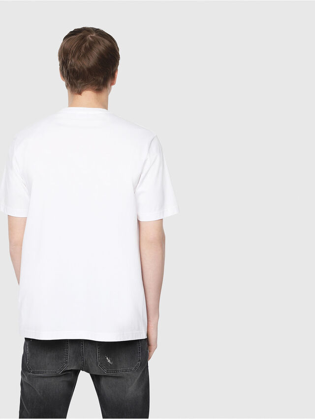 Diesel - T-JUST-Y3, White - T-Shirts - Image 2