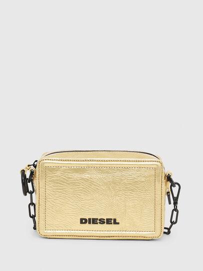 Diesel - ROSA' PCHAIN, Gold - Crossbody Bags - Image 1