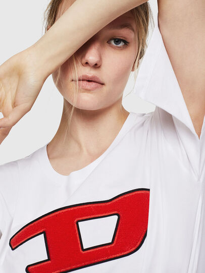 Diesel - T-JACKY-I, Cream - T-Shirts - Image 3