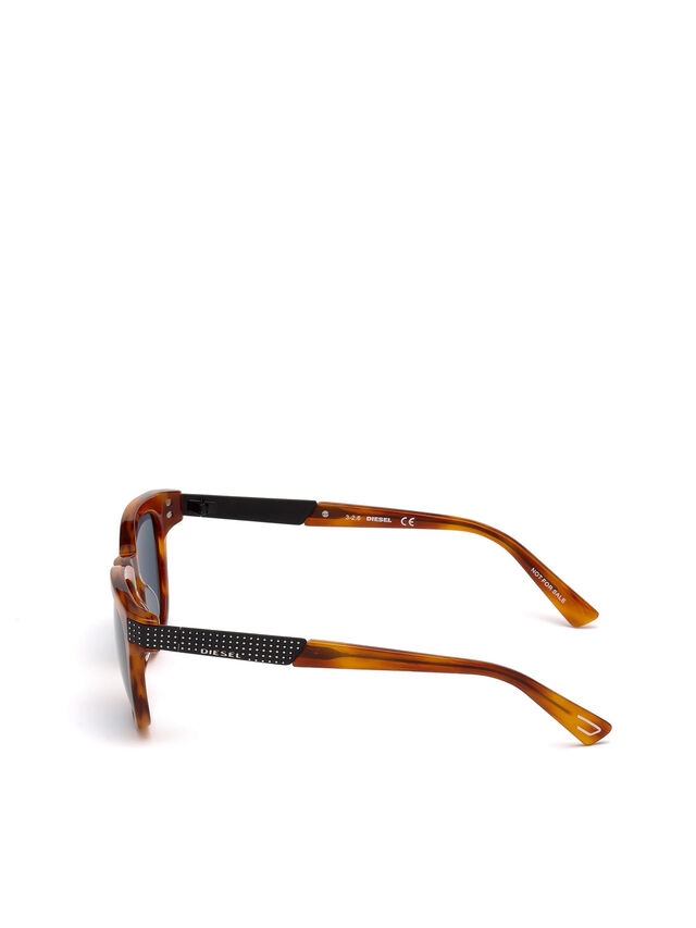 Diesel DL0237, Light Brown - Eyewear - Image 3