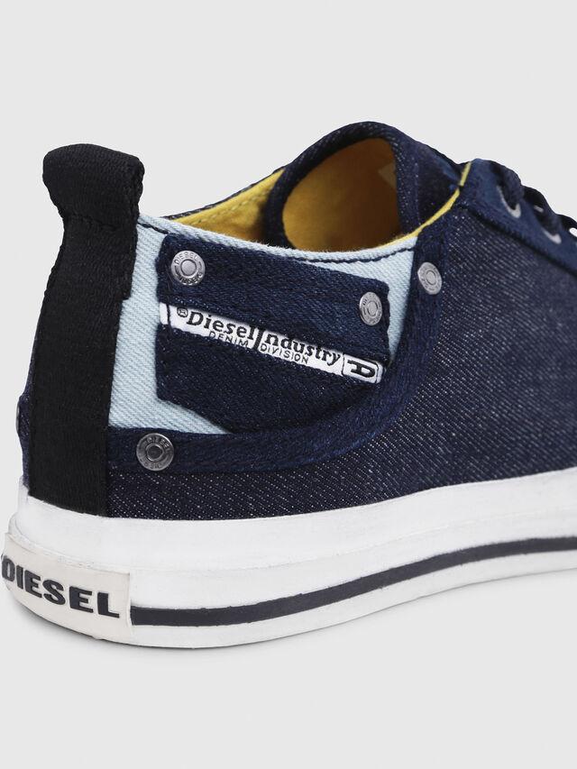 Diesel - EXPOSURE LOW I, Dark Blue - Sneakers - Image 5