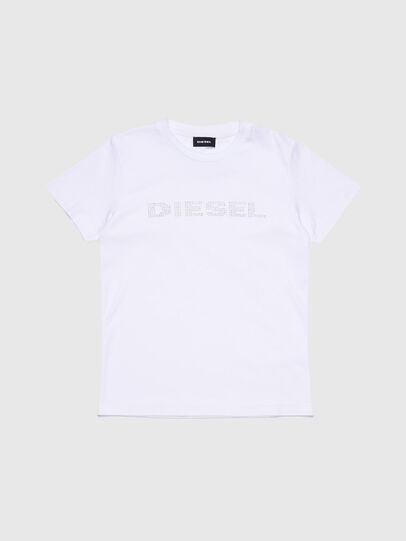 Diesel - TJFLAVIAY, White - T-shirts and Tops - Image 1