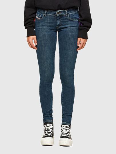 Diesel - Slandy Low 069TR, Dark Blue - Jeans - Image 1