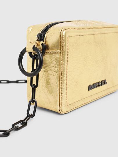 Diesel - ROSA' PCHAIN, Gold - Crossbody Bags - Image 5