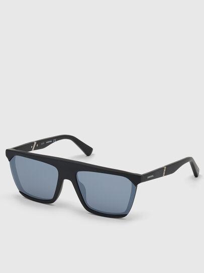 Diesel - DL0323, Black - Sunglasses - Image 2