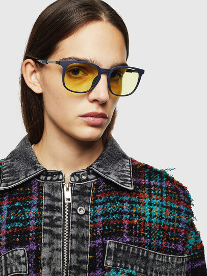 Diesel - DL0311, Dark Blue - Sunglasses - Image 6