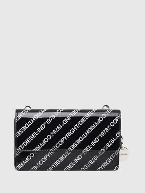 DUPLET LCLT, Black/White - Zip-Round Wallets