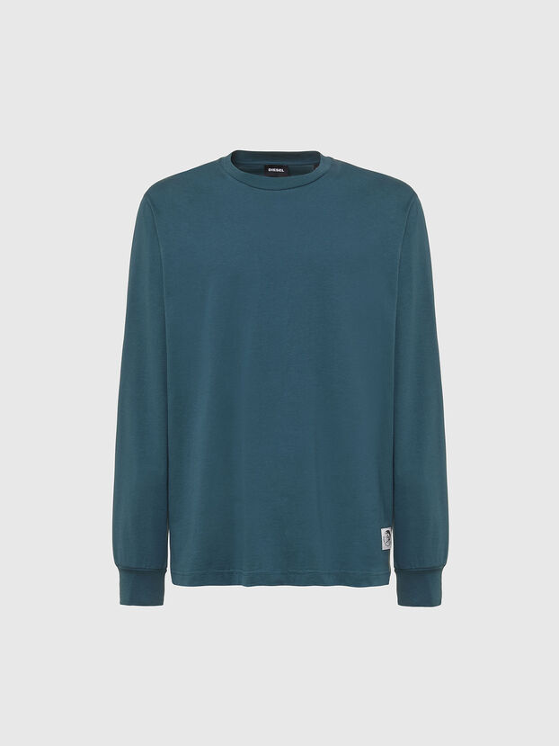 T-JUST-LS-MOHI, Water Green - T-Shirts