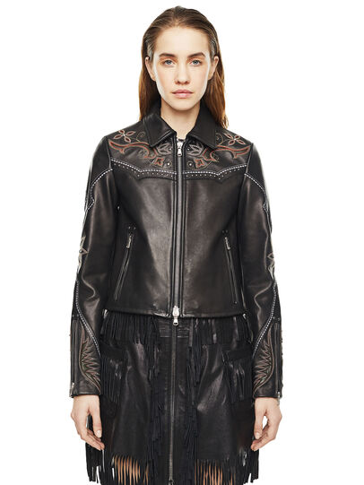 Diesel - LEXIA,  - Leather jackets - Image 1