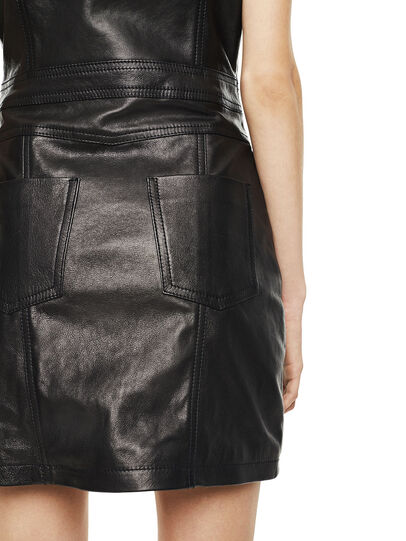 Diesel - DAFFIE,  - Leather dresses - Image 3