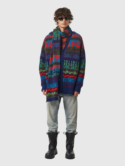 Diesel - K-HENDERSON, Green/Blue - Knitwear - Image 4
