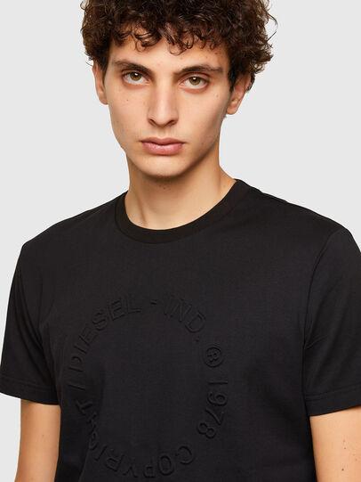 Diesel - T-DIEGOS-A2, Black - T-Shirts - Image 3