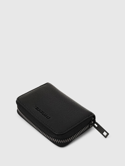 Diesel - JAPAROUND, Black/Orange - Zip-Round Wallets - Image 6