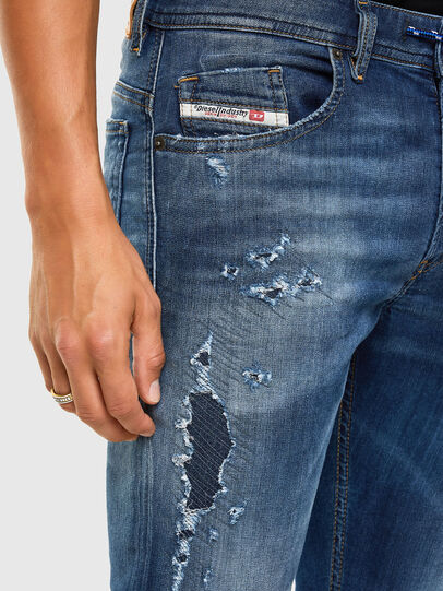 Diesel - Thommer JoggJeans 069PL, Dark Blue - Jeans - Image 3