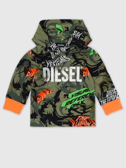 Diesel - TIRONDAB, Military Green - T-shirts and Tops - Image 1
