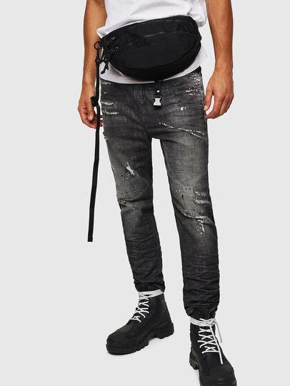 Diesel - F-URBHANITY BUMBAG, Black - Belt bags - Image 7
